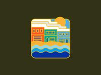 Sunset District Badge