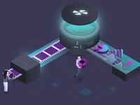 Analytics Startup Illustration 1/3