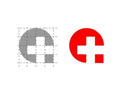Crossfit Logo red health cross symbol icon icon symbol branding ui logo