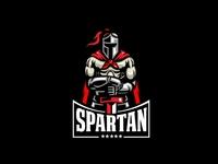 Spartan Character Logo
