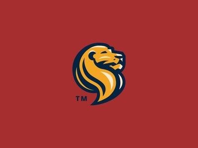 Lions Mascot Logo branding design badge vector character logo mascot