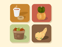 October Orchard Icon Set