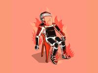 Burning Esmad