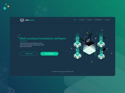 MIDImonster Landing Page
