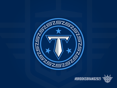 Titan Up Some More... football nashville silver sky blue blue navy logo concept nfl identity branding identity