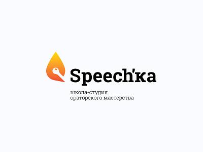 Speech'Ka vector design branding logo