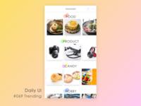 Daily_UI_#069_ Trending