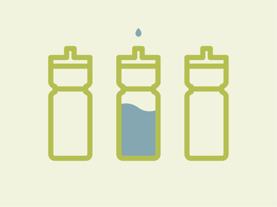 Reusable Bottle vector art icon design vector illustrator design melmelart art