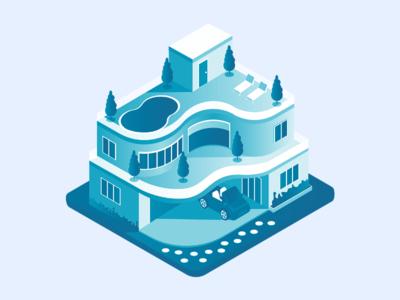 Mansion Illustration