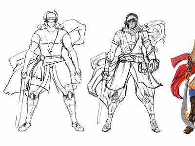 Character Concept Art Services by 3D Game Art Studio, Denton illustrator concept art services 3d concept design art