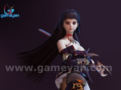 Seria 3D Character By GameYan Film Production Company