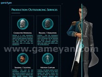 Production Outsourcing Services By GameYan 3d Production HUB