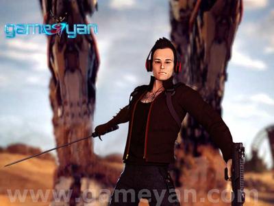 3D Joy male Warrior Character