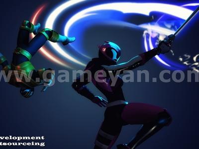 Illustrator Game Development by Animation Production Studio