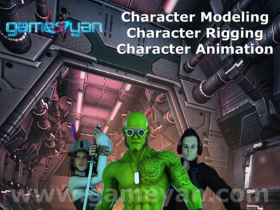 3D Character Modeling By 3d Production HUB