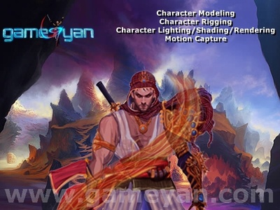 2D Concept Art Character Animation by Film Production Company