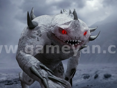 3D Monster by Film Production Company