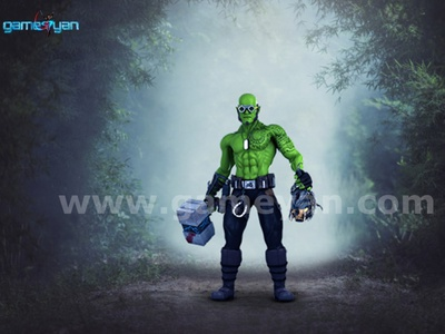 3D funifap Warrior By 3d Production HUB game development companies 3d character modeling character design studio 3d modeling game character design character modeling 3d animation studio animation character