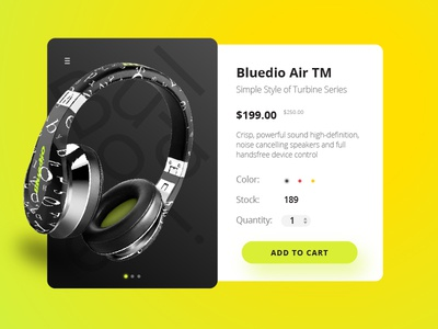 Bluedio Product Page