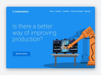 BeAutomation Landing Page