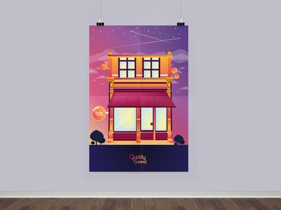Poster Candy House