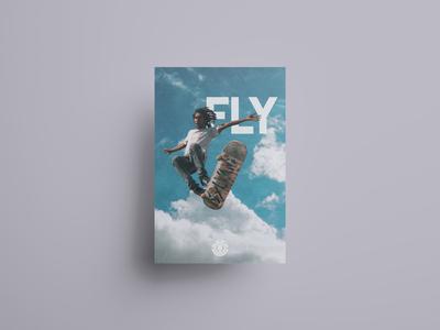 Elements skateboard poster.