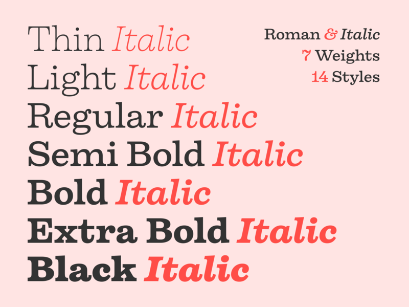 Firelli — Out now! typography typeface type font serif type design