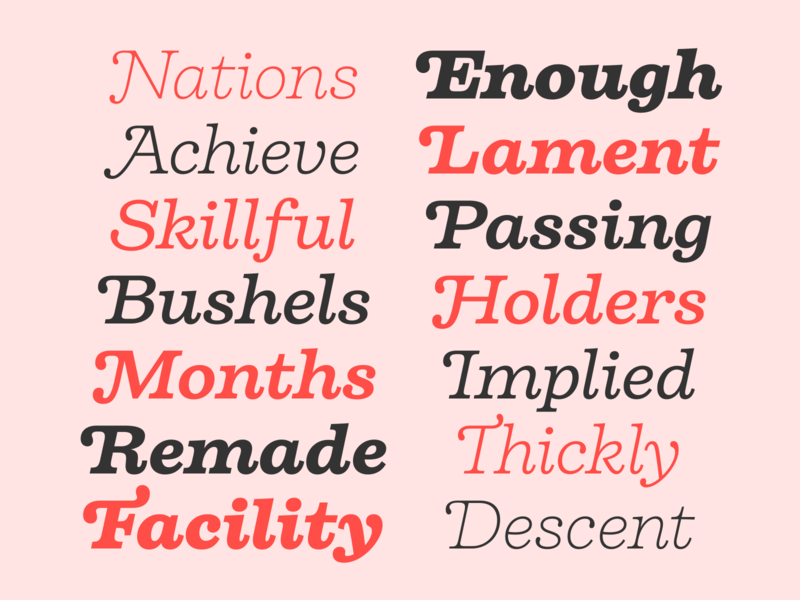 Some of the swashes of Firelli's italic styles serif typeface font sans serif type type design
