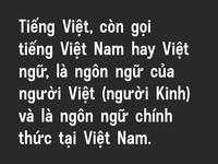 Untitled No. 1 - Vietnamese Diacritics