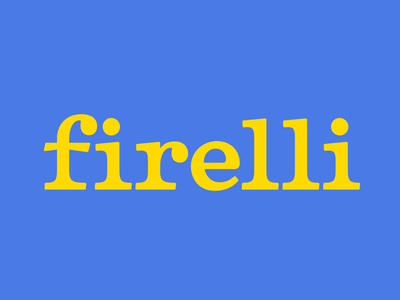 Firelli type typerobics serif type design