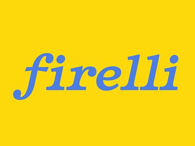 Firelli Italic typerobics italic serif type type design
