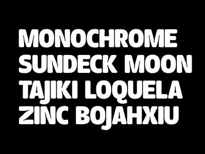 Ink Trap Experiment typeface sans serif fat type font ink trap bold type design