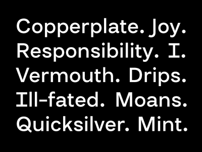 Grotesk Typeface font sans serif typeface type design groteskt type