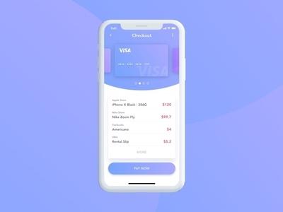 Credit card checkout ui design uidesign dailyui002 dailyui