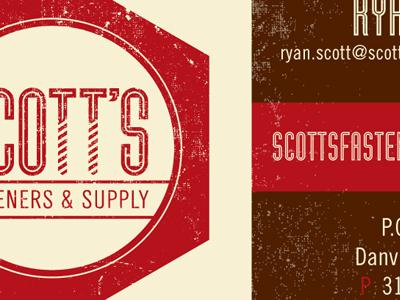 Scott's Business Card