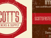 Scott's Business Card