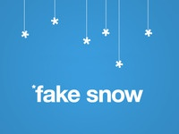 Fake Snow
