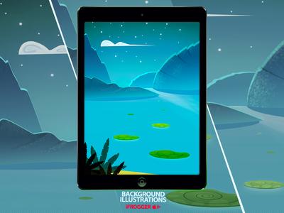 Backgroud Illustration Series v4