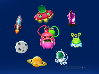 Slots Payout - Space Collection