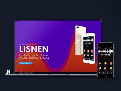 User Experience for 'Lisnen' Mobile App