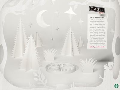 Tazo Life Print Ad
