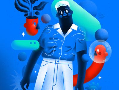 Fashion portrait man-