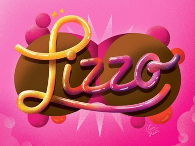 Lizzo 3d illustration graphic design typography music lizzo booty