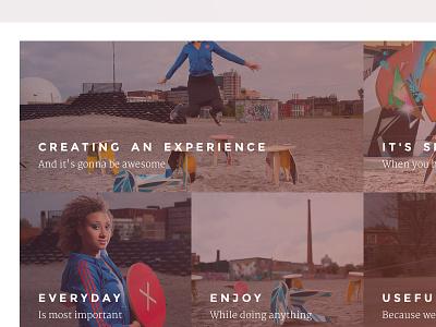 Story ui photos box website heading product