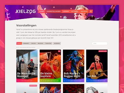 Kielzog Theatre web ui shapes svg kielzog photography thumbnails theatre
