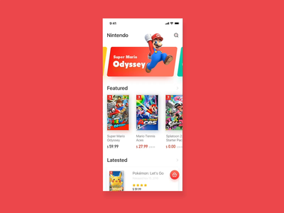 Switch Game Store-Mobility