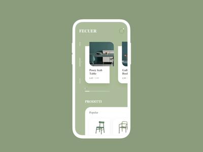 FECUER Furniture Interact effect
