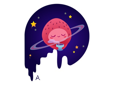 Space strawberry