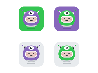 Pipedrive Bot Icon drawing sketch icon flat outline character slack bot pipedrive