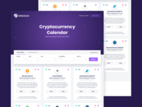 Cryptocurrency calendar